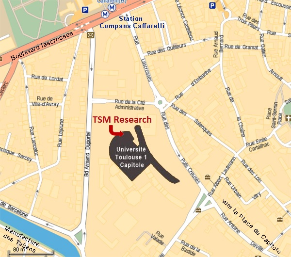 Plan d&aposaccès à TSM Research